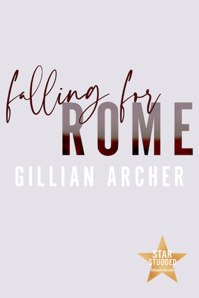 Book cover for Falling for Rome by Gillian Archer